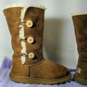 UGG Australian Bailey Button Triplet Boots